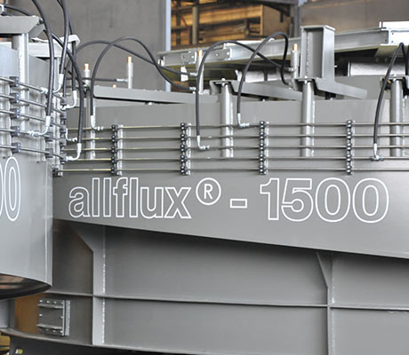 Grey allflux® sorter from allmineral