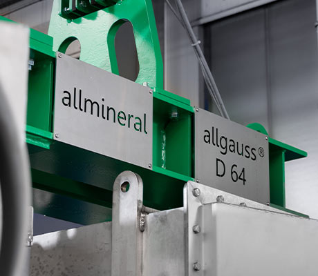 Side view of allgauss® plant